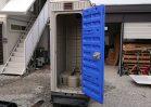 NO.3304 中古仮設トイレ和式簡易水洗式 ※現品限り