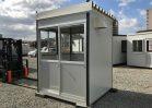 NO.3561 組立て式ハウス1坪タイプ(守衛室・喫煙室仕様) B級品 ※限定2棟