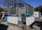 NO.3963 中古ナガワ製屋根付き階段セット ※現品限り